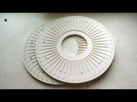 Форма для центробежного литья силиконовых приманок.