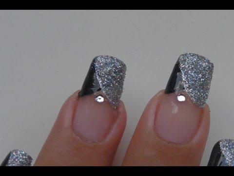 Party Glitter Nail Art Tutorial Youtube