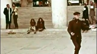 Do you spot Jim Morrison or Pamela Courson  in this Paris Footage from 1971?
