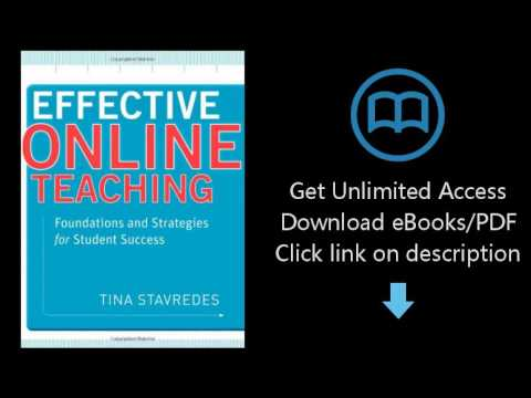 Download Effective Online Teaching: Foundations and Strategies for Student Success PDF