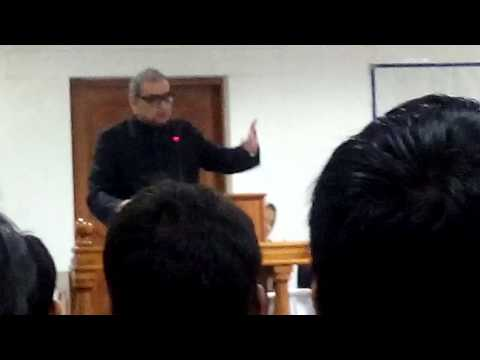 Markandey Katju in Law Faculty of AMU