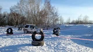 Джип-триал 12.2014 Челябинск. Экипаж 30