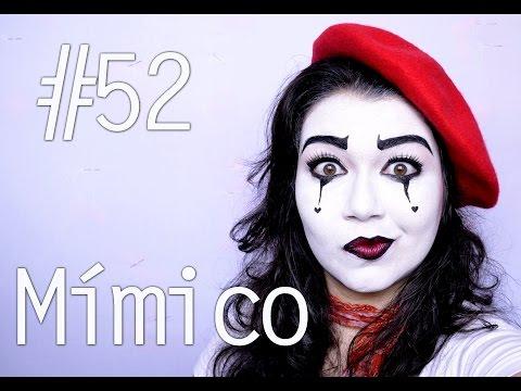 MYF #52 Mímico - Especial de Carnaval  - Tutorial de Maquiagem Artística