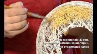Как сделать абажур для лампы.mov