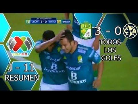 Leon Vs America 3 0 Goles Resumen Liga Mx Apertura 2015