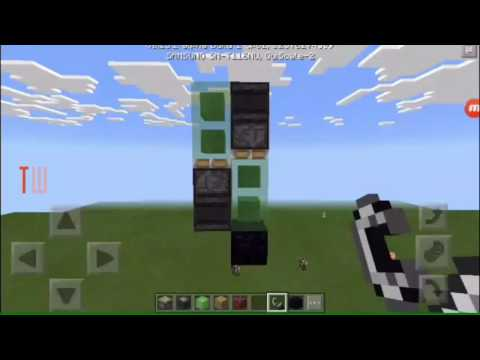 (Broken, but working in PC)Two way vertical flying machine MCPE