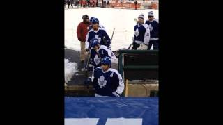 2013 Maple Leafs Alumni at Comerica Park