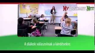 Видео уроки венгерского языка в картинках. Тема - Выражения и слова в классе. Часть 2