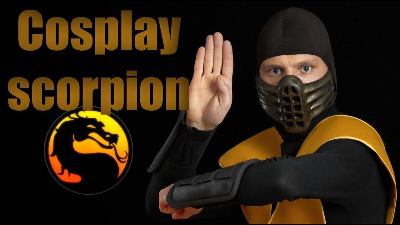Как сделать маску скорпиона из мортал комбат фото 519