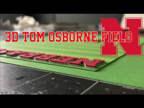 How to make a 3D version of Nebraska's Field (Tom Osborne Field)