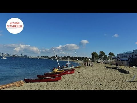 Vancouver street walk, EP 69 - Spanish Banks Beach to Locarno Beach, West Point Grey
