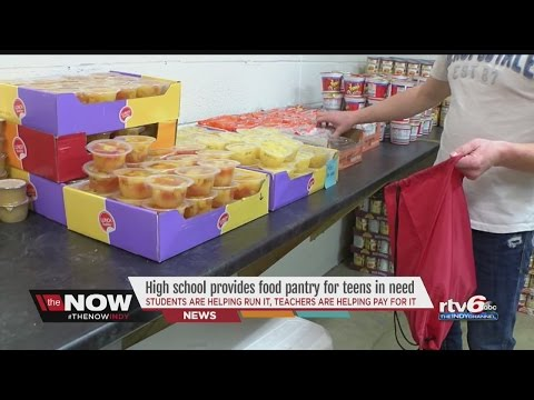 Hancock County high school pantry provides food for teens in need