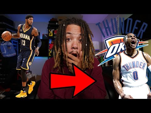 PAUL GEORGE TRADED TO THE OKLAHOMA CITY THUNDER ?!?!