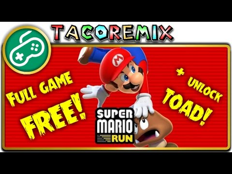 how to get toads mario run