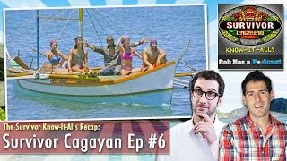 Survivor Cagayan Merge Recap: Know-It-Alls Review Episode 6