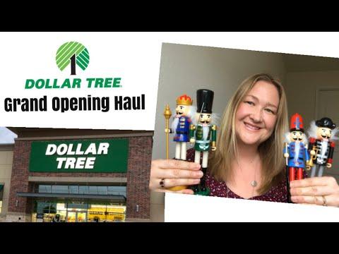 🌳 BIG DOLLAR TREE HAUL 🌳 | NEW STORE GRAND OPENING!