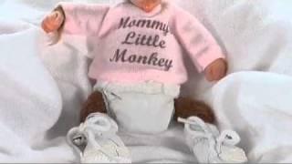 Monkey Baby Dolls Collection from Ashton Drake