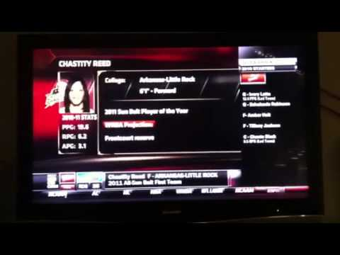 Chastity Reed drafted to the Tulsa Shock of the WNBA