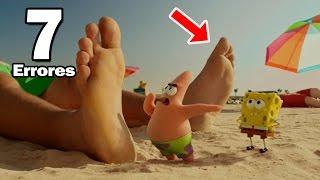 7 Errores más Increíbles de la Película de Bob Esponja