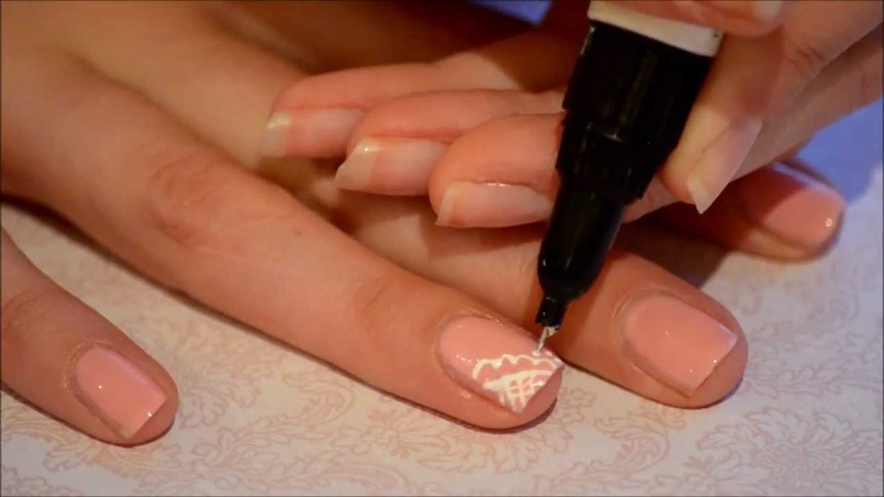 Lace nail design medium difficulty level nail art youtube lace nail design medium difficulty level nail art prinsesfo Gallery