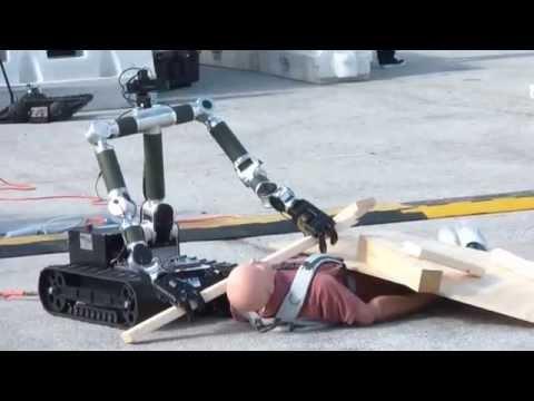 Robot Search And Rescue Demo Darpa Robotics Challenge
