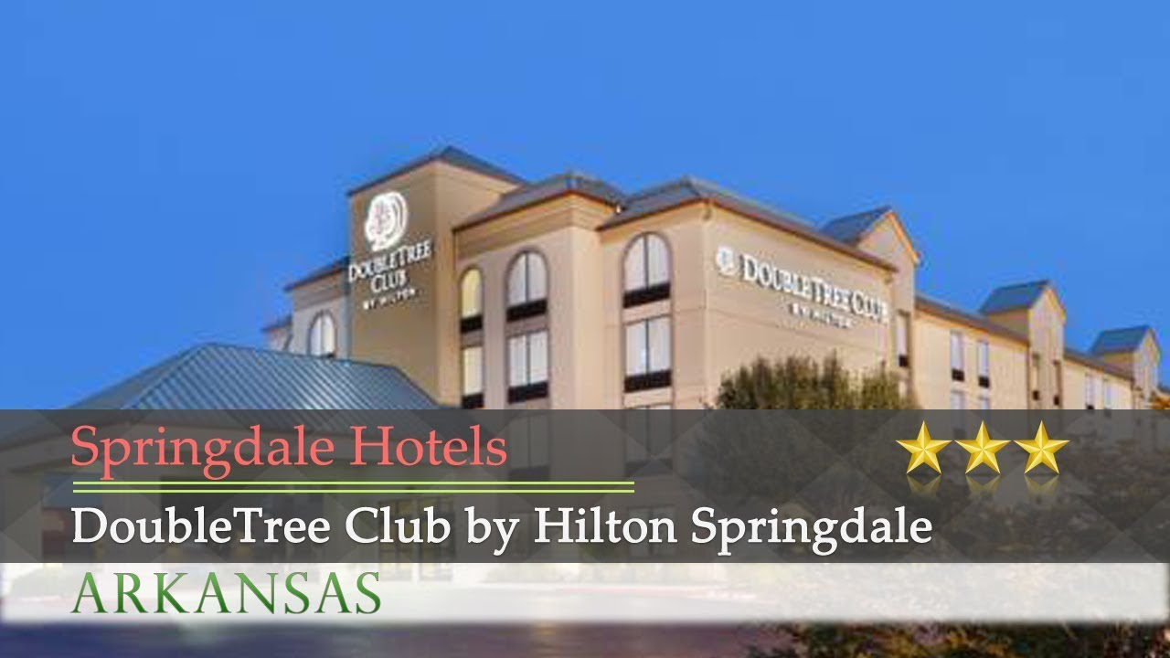 Doubletree Club By Hilton Springdale Hotels Arkansas