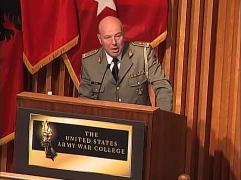 USAWC IHOF Induction of Albanian Maj. Gen. Jeronim Bazo