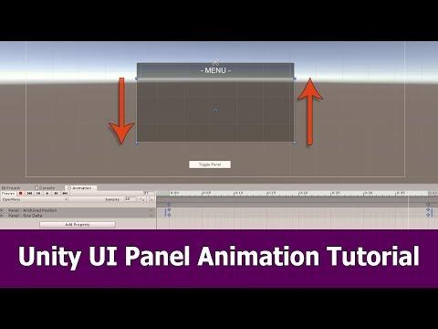 Unity UI Panel Animation Tutorial
