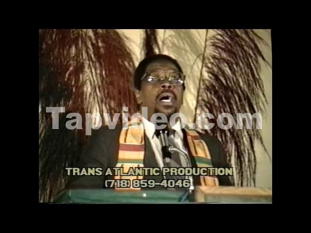 Dr  Amos Wilson The Crisis of Black Leadership