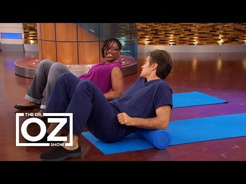 Dr. Oz Shares an At-Home Solution for Back Pain