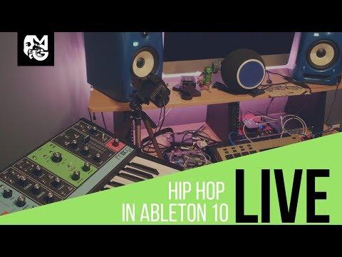 Lo-Fi Hip Hop w/ Ableton Live 10 (Live Stream)