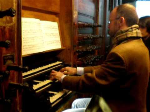 Henk Verhoef plays Bach in the Oude Kerk, Amsterdam