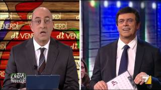 Crozza-Floris conduce una nuova puntata di DiVenerdì