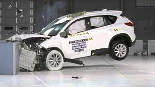 2013 Mazda CX-5 frontal offset test  from IIHS