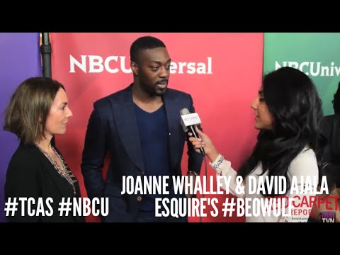 Joanne Whalley & David Ajala Beowulf at NBCUniversal's Winter 2016 Press Tour TCA2016