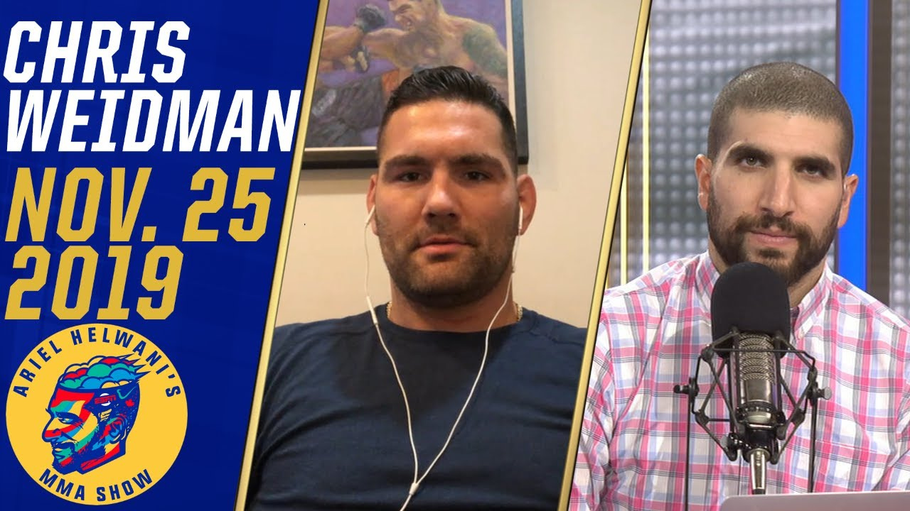 Chris Weidman wants quick turnaround after loss to Dominick Reyes | Ariel Helwani's MMA Show