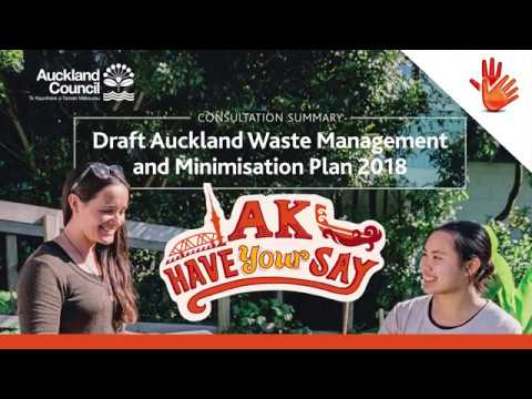 Waste Management and Minimisation Plan Summary Document (NZS