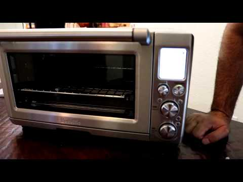 Breville Smart Oven Pro with Light Model BOV845BSS / Making Pizza !!1
