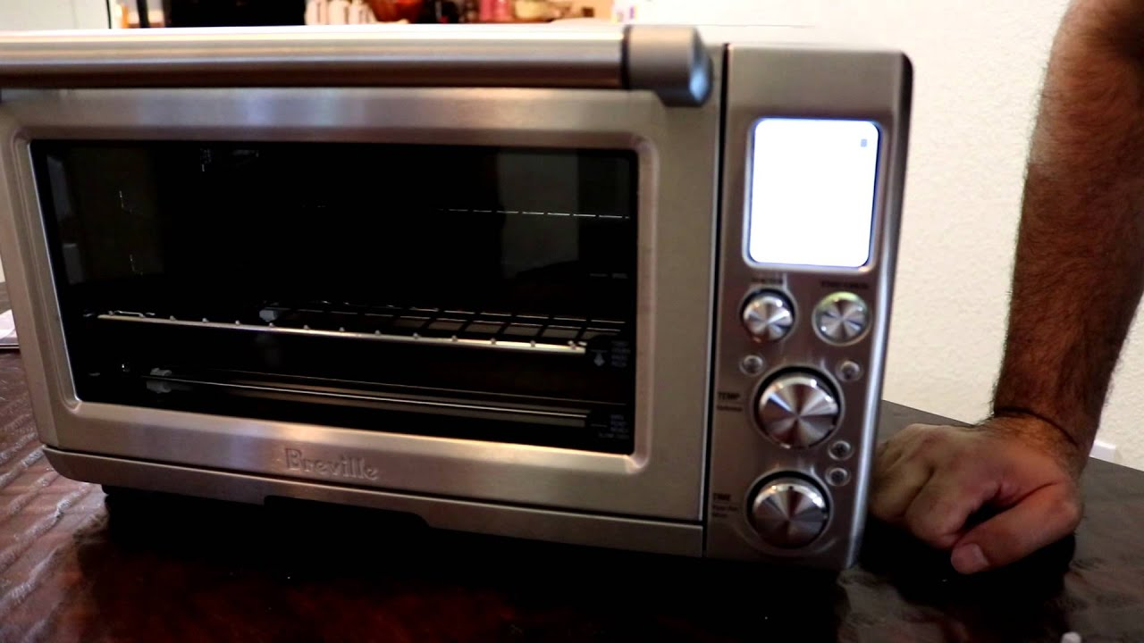 Breville Smart Oven Pro With Light Model BOV845BSS Making Pizza 1