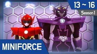 [Miniforce] Season1 Ep13~16