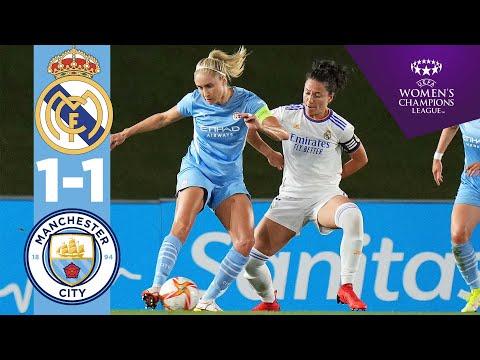 HIGHLIGHT!  REAL MADRID 1-1 MAN CITY    UEFA FEMALE CHAMPIONS LEAGUE