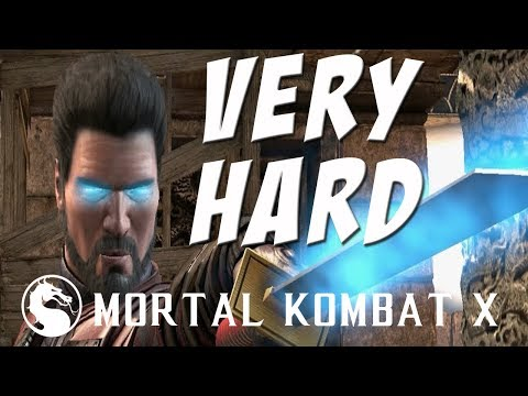 Mortal Kombat X - Kenshi (Kenjutsu) - Klassic Tower on Very Hard - NO MATCHES LOST!