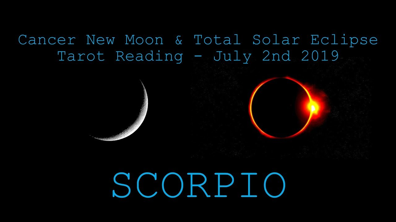 Scorpio - Stepping into a portal of love! - New Moon & Solar Eclipse  Reading July 2019