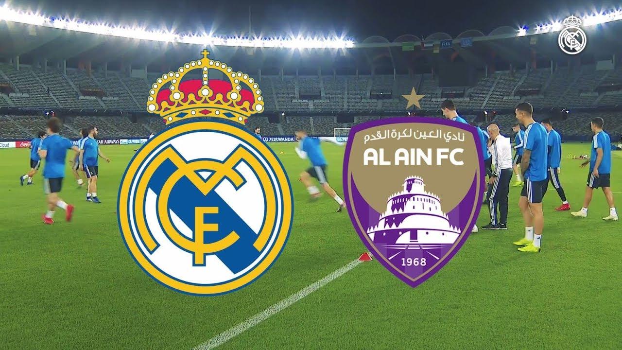 c9dae32df38 Real Madrid vs Al Ain 4 - 1