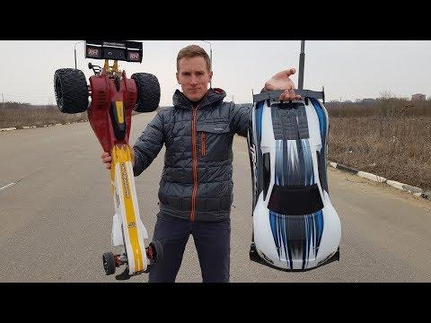 DRAGRACING !!! Самодельный ДРАГСТЕР против БЕШЕНОЙ Traxxas XO1 100+ км/ч
