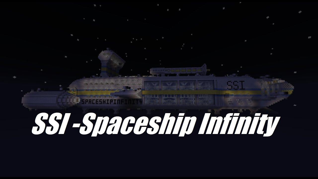 Minecraft - SSI - Space Ship Infinity - YouTube