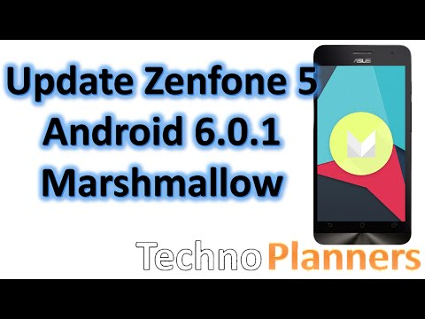 How to Update Android 6.0 on Zenfone 5 Marshmallow without Root