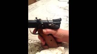 Flintlock Pistol Firing the Pan