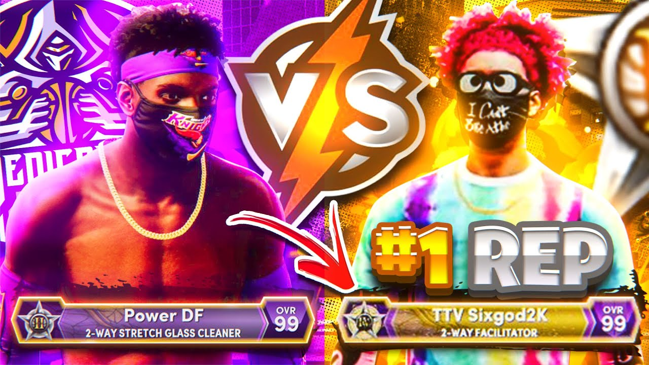 #1 TOP REP IN THE WORLD vs DF - COMP GAME OF THE YEAR NBA 2K21 NEXT GEN