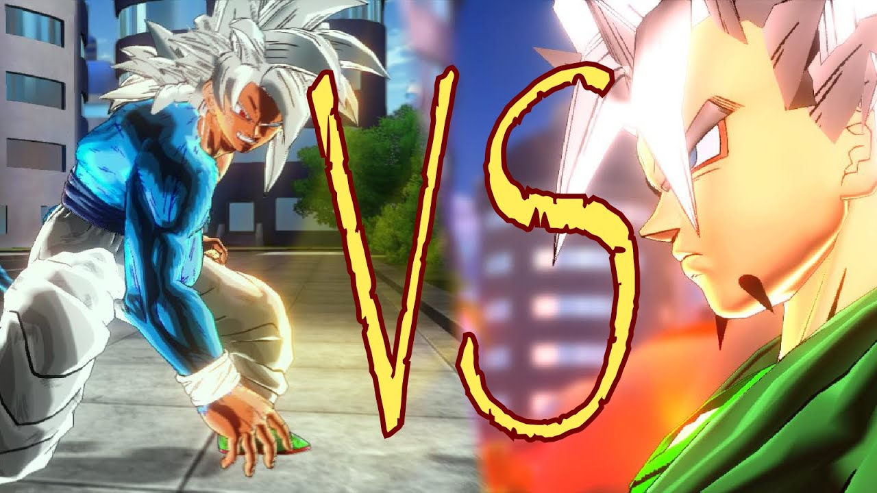 Dbxv mod goku super saiyan 5 vs xicor youtube - Goku 5 super saiyan ...